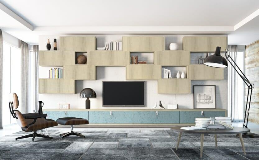 Blog sal o design dos tapumes aos m veis planejados - Armarios para sala de estar ...