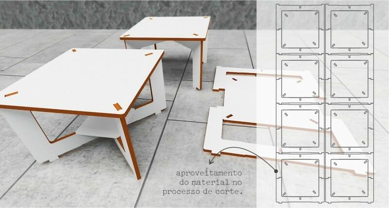 6331 - Nexo mesa de centro