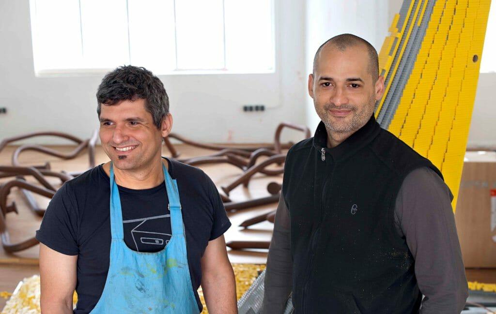 LOS CARPINTEROS - DAGOBERTO RODRIGUES E MARCO CASTILLO - Foto de Sueraya Saheen