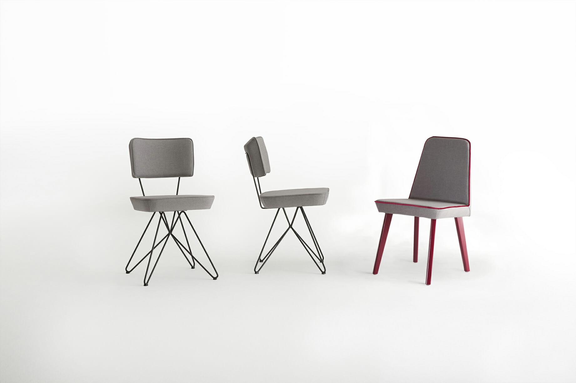 Linha Butterfly -  cadeira retro e cadeira jantar