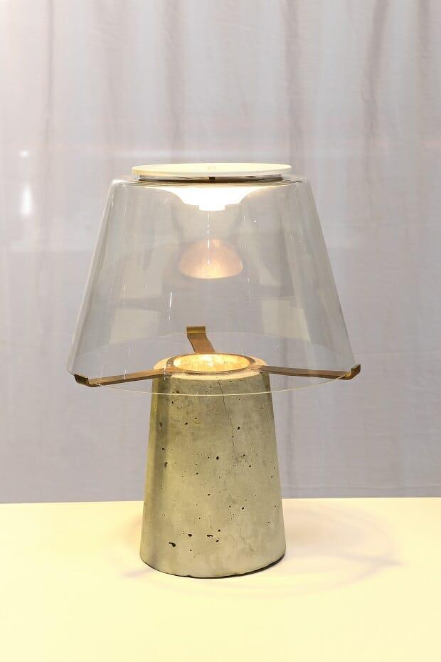Luminária Brutalista – Design de Thiago Augusto Batista Soares/ Campinas (SP)