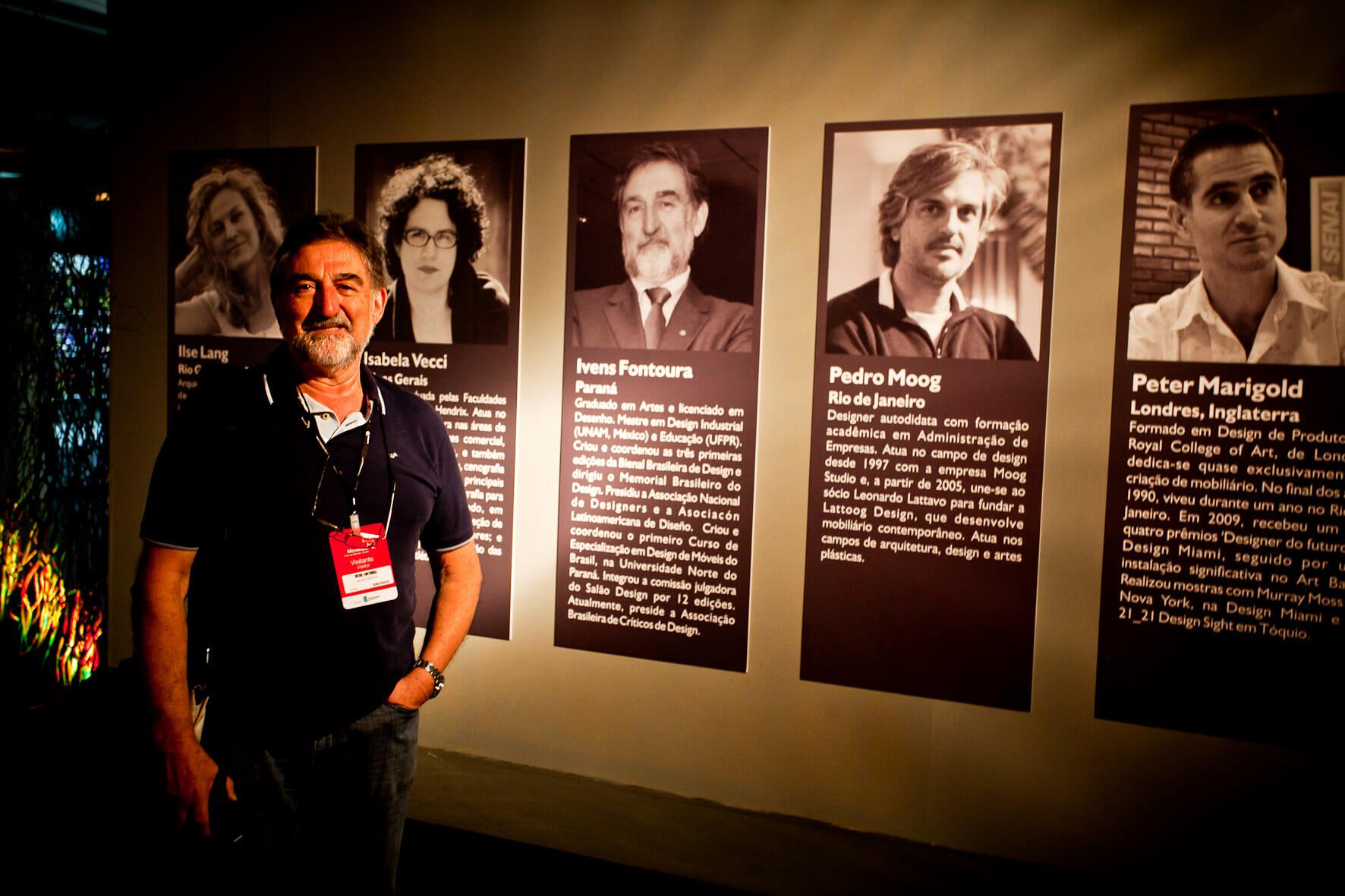Ivens Fontoura, jurado do Salão Design há 12 edições | Foto: Emmanuel Denaui